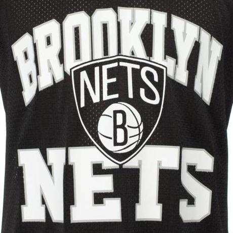Mitchell&Ness ミッチェル&ネス NBA メッシュタンクトップ 黒 ブラック Brooklyn ブルックリン Nets ネッツ USA正規品