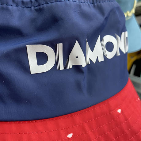 Diamond Supply Co. ダイヤモンドサプライ DECO BUCKET HAT バケットハット 紺/赤 ダイヤドット