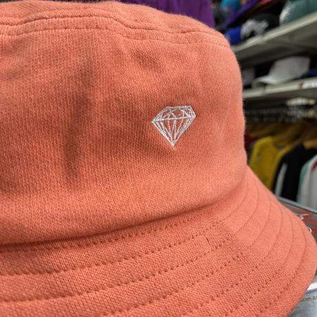 Diamond Supply Co. ダイヤモンドサプライ BUCKET HAT バケットハット サーモンオレンジ