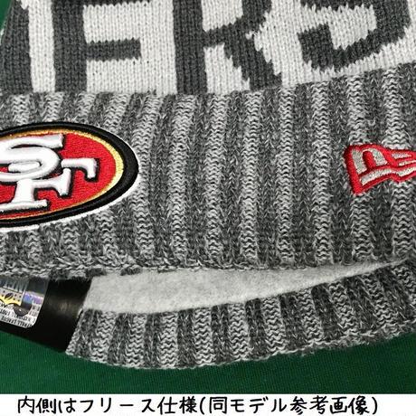 NEWERA ニューエラ STEELERS ピッツバーグ スティーラーズ公式 ニットキャップ ニット帽 フリース NFL アメフト