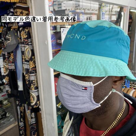 Diamond Supply Co. ダイヤモンドサプライ YACHT BUCKET HAT ヨット バケットハット 撥水 ナイロン 黒