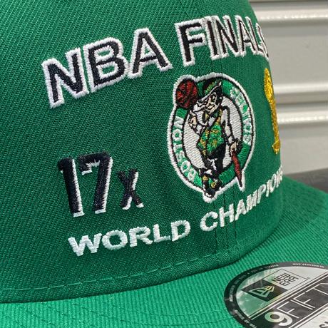 USA限定 Newera ニューエラ NBA ファイナルズ チャンピオン 9FIFTY ボストン セルティックス