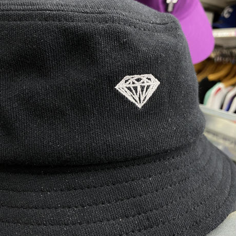 Diamond Supply Co. ダイヤモンドサプライ BUCKET HAT バケットハット 黒 ダイヤロゴ