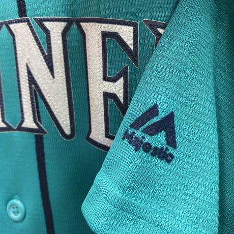 Majestic マジェスティック MLB イチロー #51 シアトル マリナーズ レプリカユニフォーム 緑
