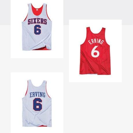 Mitchell&Ness ミッチェル&ネス NBA ジュリアス アービング 76ers シクサーズ オールスター ALLSTAR リバーシブル タンクトップ バスケシャツ