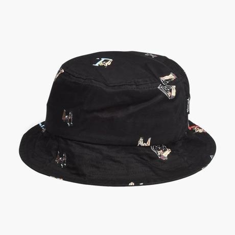 Diamond Supply Co. ダイヤモンドサプライ BUCKET HAT バケットハット ピンナップガール 黒
