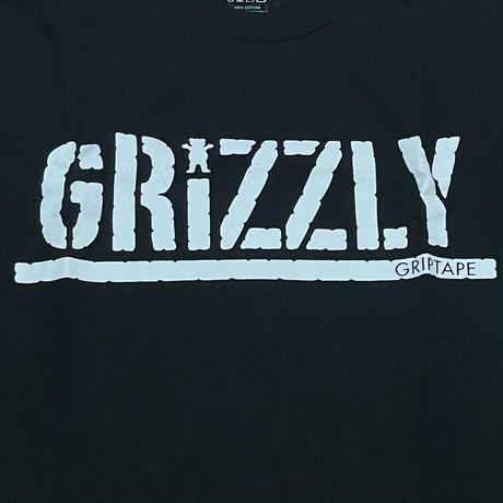 【4XL】 ダイヤモンドサプライ Diamond Supply Co. グリズリー Grizzly 半袖 Tシャツ 黒 OGスタンプロゴ (T18)