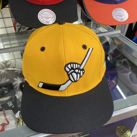 Adidas アディダス NHL ピッツバーグ ペンギンズ スナップバックキャップ アイスホッケー