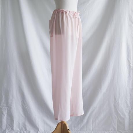 silk パンツpink