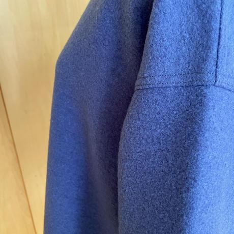 圧縮ウールプルオーバー evelyn / ブルー