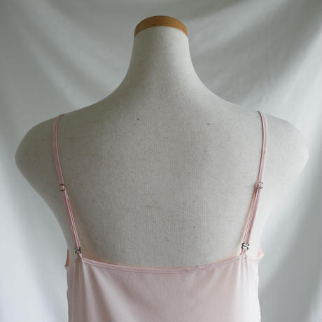 silk キャミソールドレス(スリップ) pink