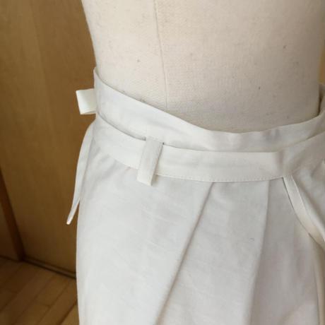 巻きスカート clara / ホワイト