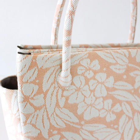 和装トートバッグ W_1033 /  Floral