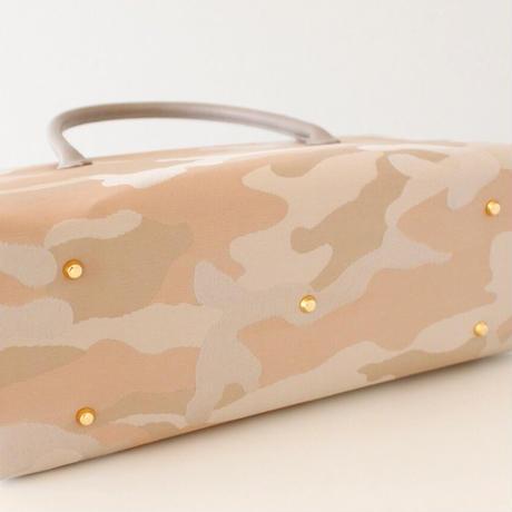 利休バッグ R_1017 / Camouflage beige
