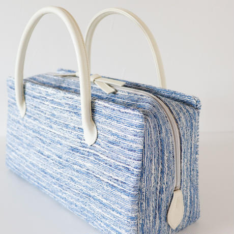 利休バッグ / Blue Silver / R_1063