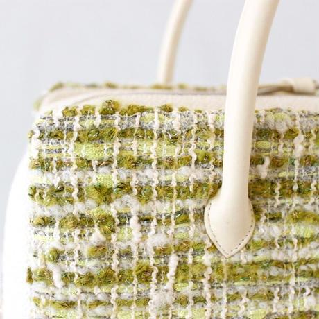利休バッグ R_1013 / Green moss