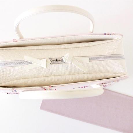 利休バッグ R_1038 / light pink sequins