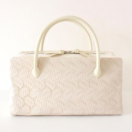 利休バッグ R_1036 /  beige lace