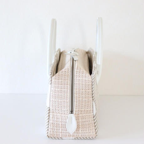 利休バッグ R_1047 / Jute fabric