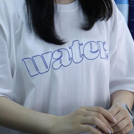 water logo tee