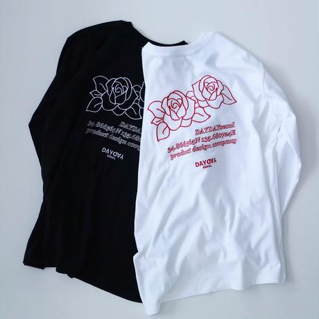 rose L/S tee