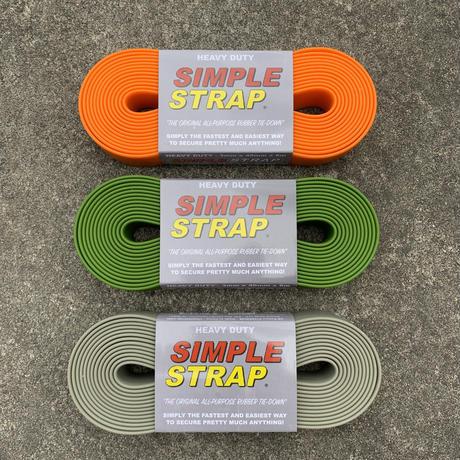 【UPGRADE】新色 SIMPLE STRAP シンプルストラップ  heavy duty (3mm)