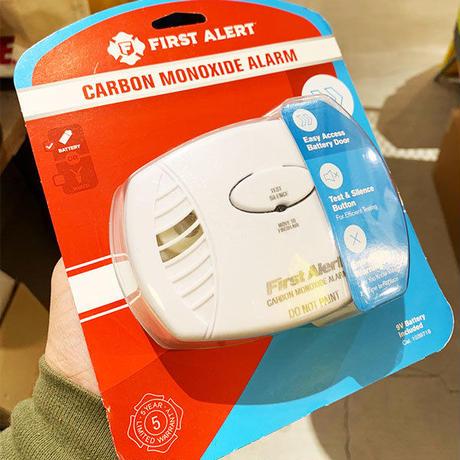 Carbon Monoxide Alarm  FIRSTALERT