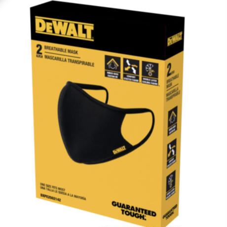 DEWALT Face Mask 2個入
