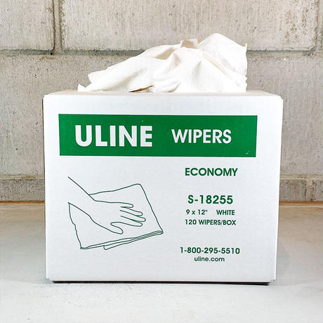 ULINE Economy Wipers Dispenser Box