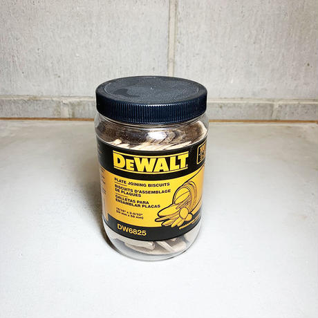 DEWALT デウォルト plate joining biscuits 木工ビスケット