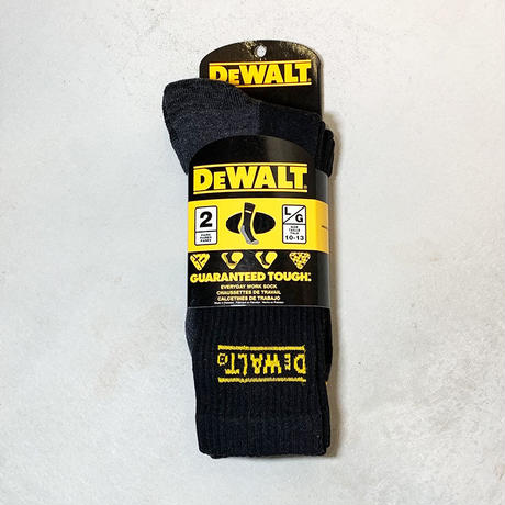 DEWALT デウォルト Socks ブラック