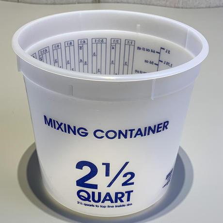 ULINE Mixing Container - 2.5 Quart