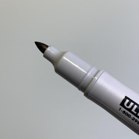 ULINE COMFORT-GRIP MARKERS - BLACK&SILVER 2本セット