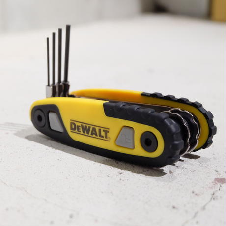 DEWALT デウォルト 8pc Locking Hex Key Set