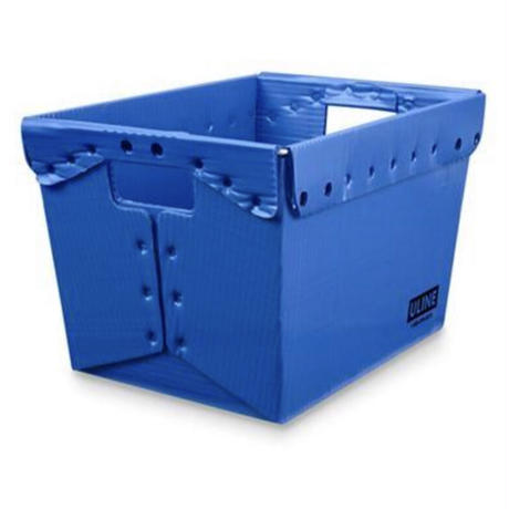 """ULINE Space Age Totes - 18 x 13 x 12"""", Blue"""