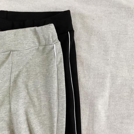 Piping Relax Pants