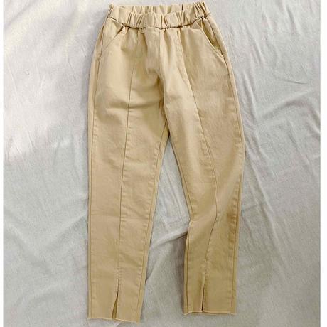 Slit Skinny Pants