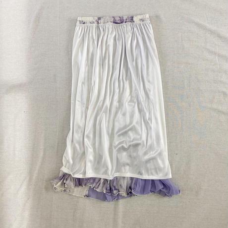 Tie Dye Pleats Skirt