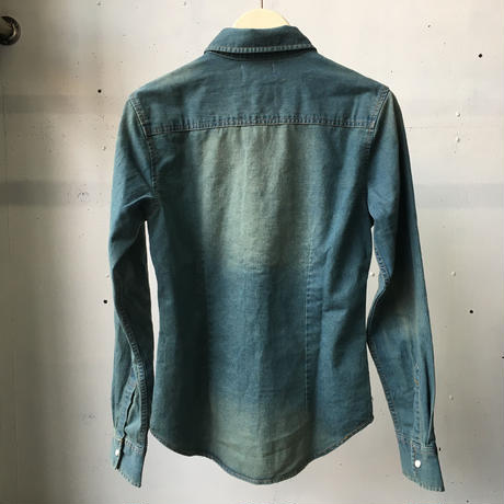 DOMES PAIR  Stretch Denimshirt