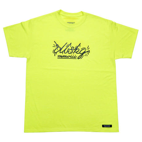 '19 LOGO-TEE SAFETY GREEN