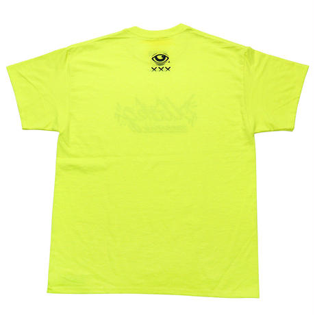 '19 LOGO Tee - SAFETY GREEN