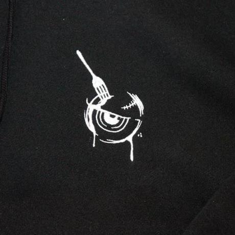 Fork Eye-ZIPHOOD BLACK