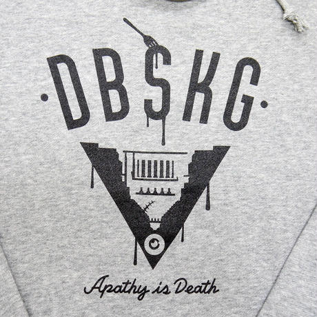 Apathy is Death - HOODIE GRAY