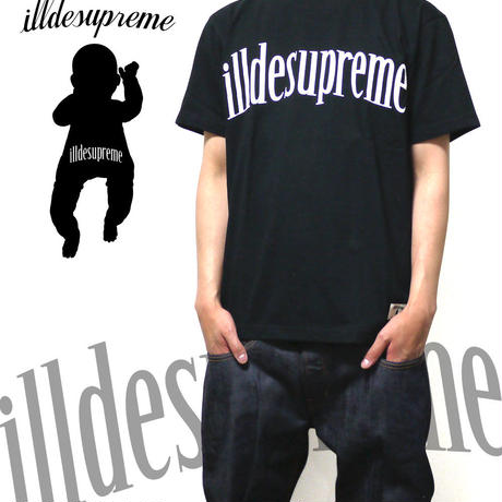 illdesupreme LOGO-T BLACK