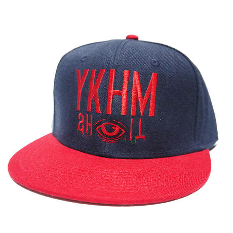 YKHMSHIT CAP NAVY/RED