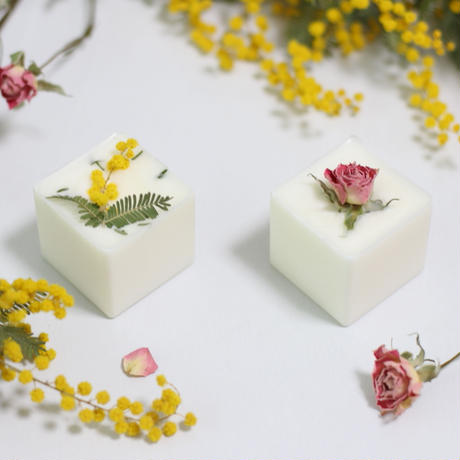 Aroma Cube *mimosa&rose*