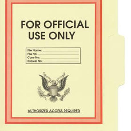 公的書類ケースファイリング(紙製) 5枚セット