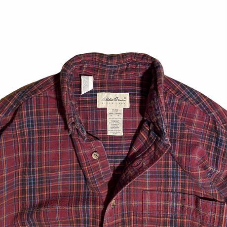 Eddie Bauer B.D flannel shirt / size M
