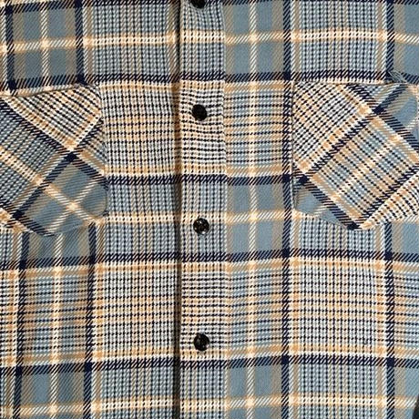 "Sears ""heavy flannel shirts"" / size L"