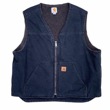 """""""Carhartt"""" duck boa vest / size XL / made in Mexico"""